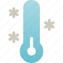 cold, frost, low, temperature, weather icon