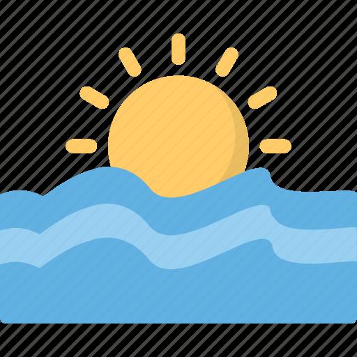 Forecast, sea, season, sun, weather icon - Download on Iconfinder