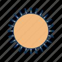 hot, sun, sunlight, sunny, sunshine, temperature icon