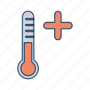 heat, hot, stroke, summer, sun, warm, weather icon