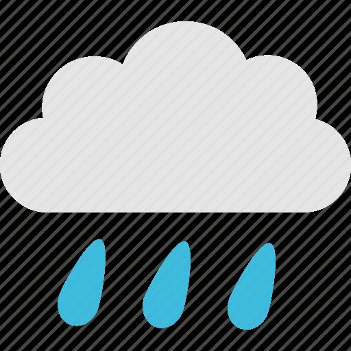 cloud, forecast, humidity, meteorology, rainy, season, weather icon