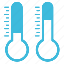 cold, forecast, hot, meteorology, season, thermometer, weather icon