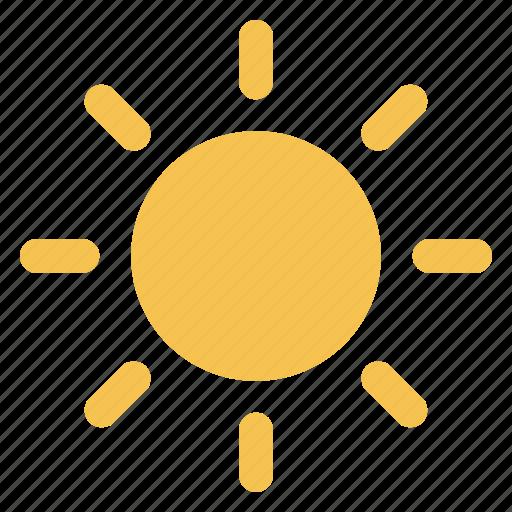 forecast, hot, meteorology, season, sun, sunshine, weather icon