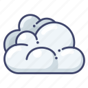clouds, cloudy, overcast icon