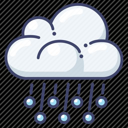 forecast, hail, ice icon