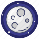 evening, moon, night icon