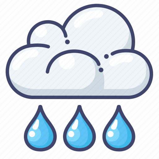 cloud, forecast, rain icon