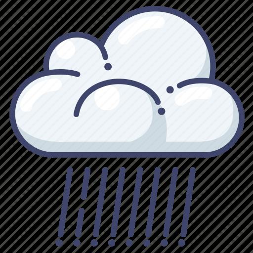clouds, rain, weather icon