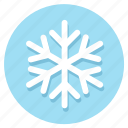 frost, snow, snowflakes, winter icon