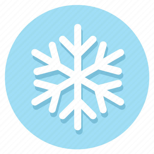 frost, snow, snowflakes, winter icon