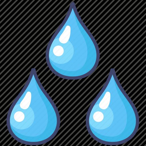 drop, weather, wet icon