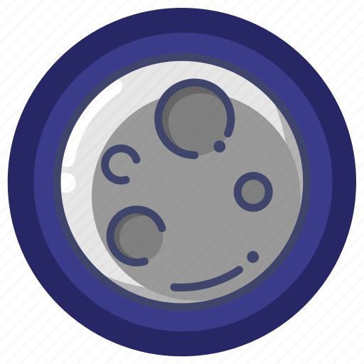 eclipse, forecast, moon icon