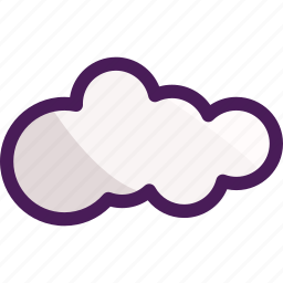cloud, cloudy, summer, weather, winter icon