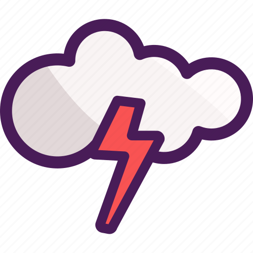 cloud, cloudy, raining, storm, winter icon