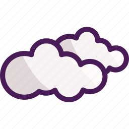 clouds, cloudy, summer, weather, winter icon