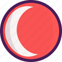 eclipse, moon, space, sun, twilight icon