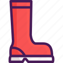 boot, boots, rain, shoe icon