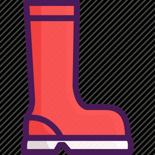 boot, boots, rain, shoe icon