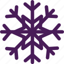 christmas, snow, snowflake, snowing, winter icon