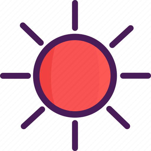 bright, summer, sun, sunshine icon