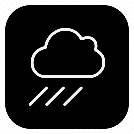 climate, cloud, cloudy, environment, forecast, rain, weather icon