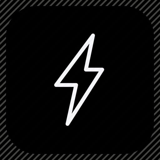 bolt, climate, cloud, cloudy, forecast, lightning, thunder bolt icon