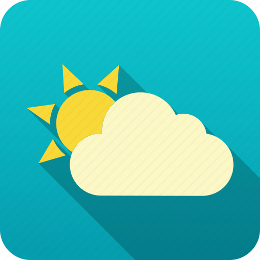 forecast, meteorology, sun, weather icon