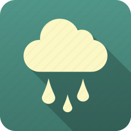 forecast, meteorology, precipitation, rain, weather icon