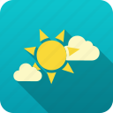 forecast, meteorology, sun, weather