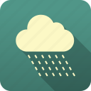 forecast, meteorology, precipitation, rain, weather icon