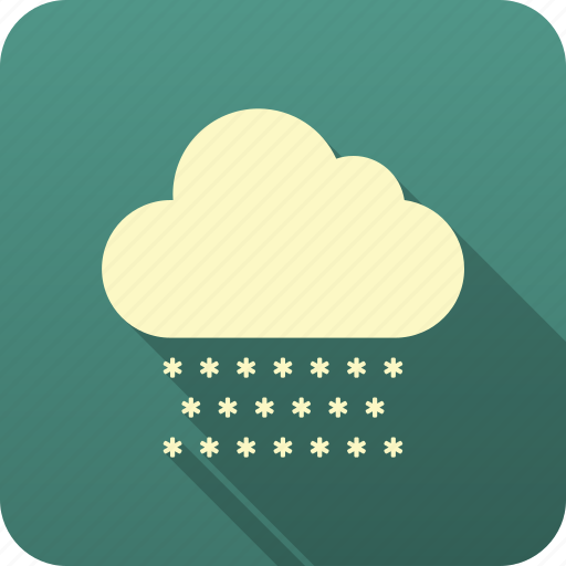 forecast, meteorology, precipitation, snow, weather icon