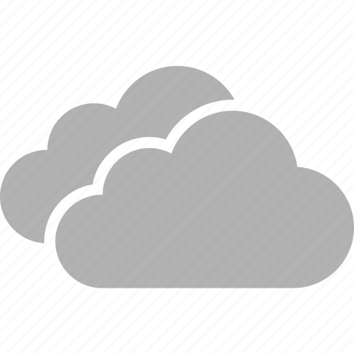 aerosol, cloud, clouds, cloudy, overcast, two, weather icon