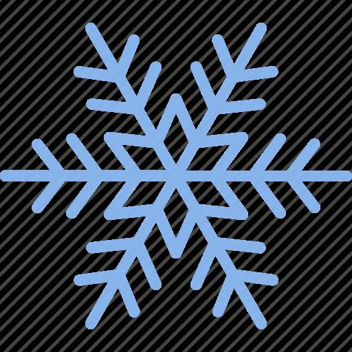 cold, flake, freezing, snow, snowflake, weather, winter icon