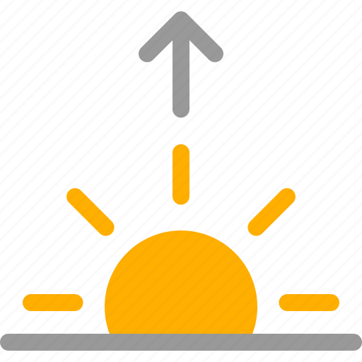 dawn, rise, rising, sun, sunrise, up, weather icon