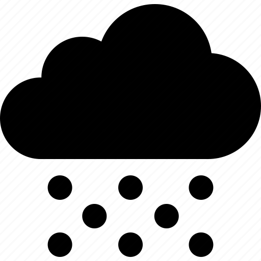 Cloud, frozen, hail, ice, pellets, precipitation, rain icon - Download on Iconfinder