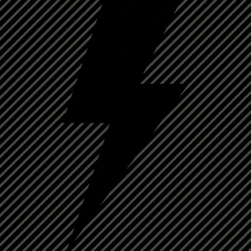 Bolt, electricity, energy, flash, lightning, power, thunder icon - Download on Iconfinder