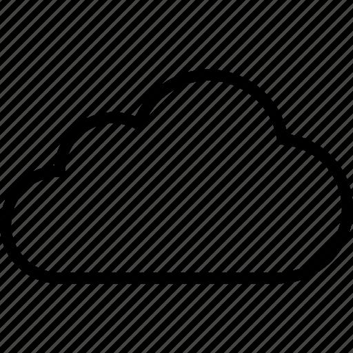 aerosol, cloud, cloudy, computing, overcast, storage, weather icon