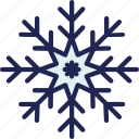 cold, forecast, snowflake, snowy, weather, winter icon