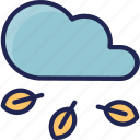 cloud, forecast, season, spring, weather icon