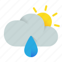 afternoon, cloud, cloundy, element, gray, overcast, weather icon
