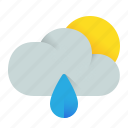 cloud, cloudy, morning, weather icon