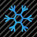 cloud, element, ice, snow, snowflake, snowy, weather icon