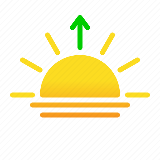morning, sun, sunrise icon
