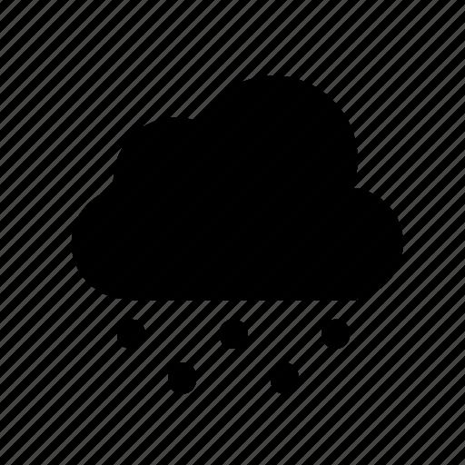 cloud, snow, snowing icon