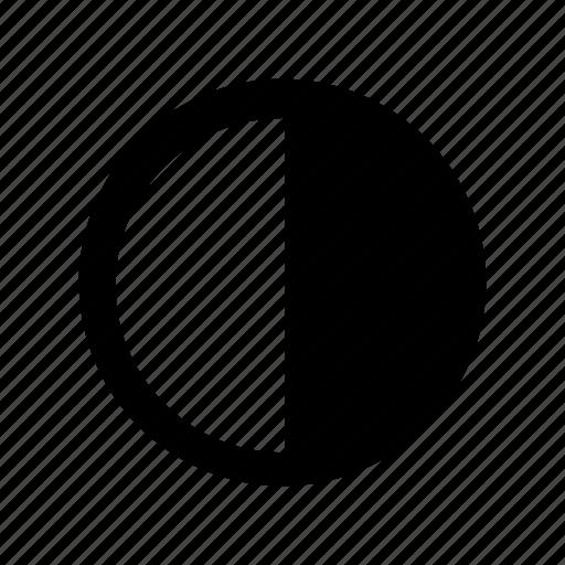 last, quarter icon
