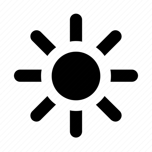 bright, summer, sun icon