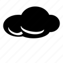 cloud, cloudy, server, sky, storage, storm, weather icon