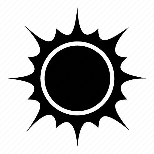 Sun, sunny, weather, clear day, forecast, sky, temperature icon - Download on Iconfinder