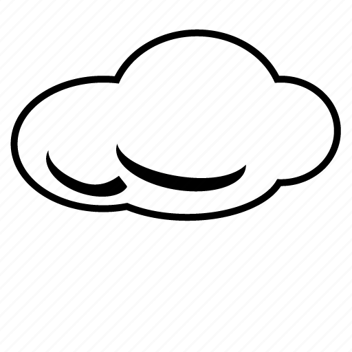 cloud, cloudy, forecast, internet, online, storage, weather icon
