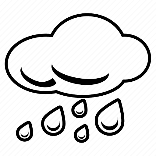 cloud, cloudy, drizzle, rain, rainy, storm, stormy icon